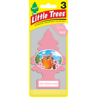 LITTLE TREES air freshener Cherry Blossom Honey 3 Pack