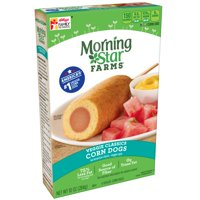 MorningStar Farms Classics Veggie Corn Dogs 4 Ct 10 oz