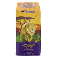 Magnum Exotics Coffee, Whole Bean, Med-Light Roast, Jamaican Blue Mountain Blend