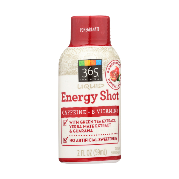 365 everyday value® Liquid Energy, Pomegranate, 2 Fl. Oz.