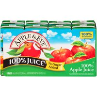 Apple & Eve 100% Apple Juice 8-6.75 fl. oz. Aseptic Packs