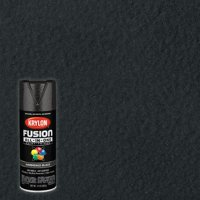 Krylon Fusion All-In-One Hammered, Hammered Black, 12 oz.