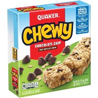 Quaker Chewy Chocolate Chip Granola Bars - 8ct