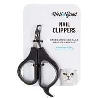 Well & Good Black Cat Claw Nail Scissors