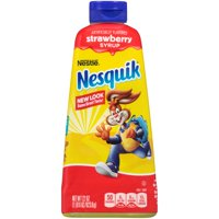 NESQUIK Strawberry Syrup 22 oz. Bottle 22 oz.