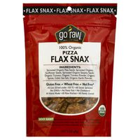 Go Raw Organic Pizza Flax Snax