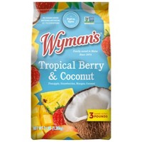 Wyman's Farm Fresh Frozen Tropical Berry with Coconut - 48oz