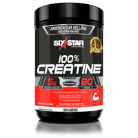Six Star Pro Nutrition Elite Series Creatine Powder, 80 Servings