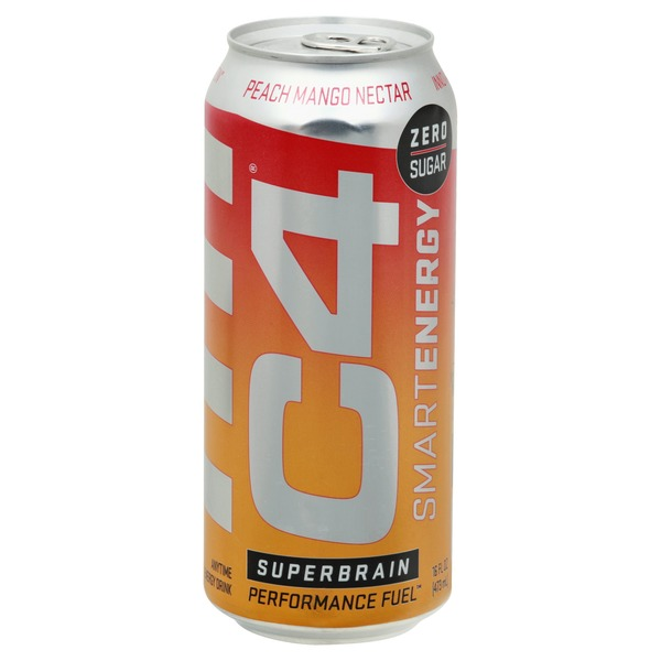 C4 Energy Drink, Peach Mango Nectar