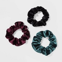 Velvet Fabric Solid Twisters - Wild Fable™ Black