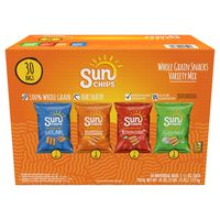 Sun Chips Variety Pack, 30 x 1.5 oz
