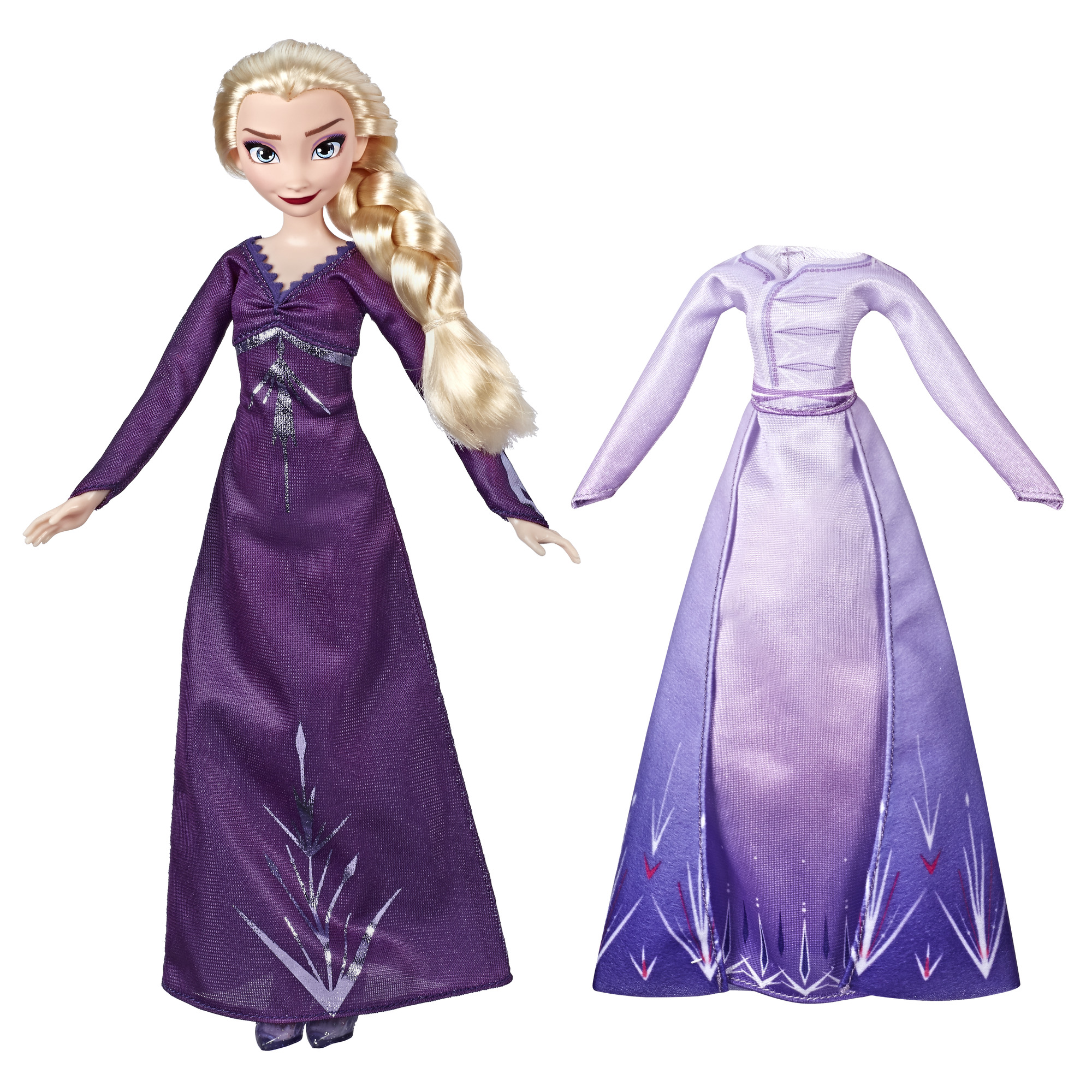 Disney Frozen 2 Arendelle Elsa Fashion Doll with Dress, Nightgown & Shoes