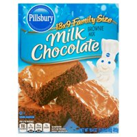 Pillsbury Milk Chocolate Brownie Mix 13x9 Family Size, 18.4 oz
