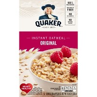 Quaker Original Heart Healthy Oatmeal - 12ct