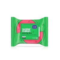Clean & Clear Watermelon Cleansing Wipes - 25ct
