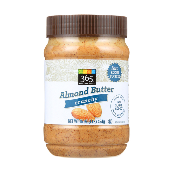365 everyday value® Crunchy Almond Butter, 16 oz