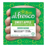 Al Fresco Sweet Apple Fully Cooked Chicken Sausage 11oz