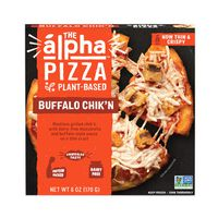 The Alpha Pizza, Buffalo Chik'n, Plant-Based