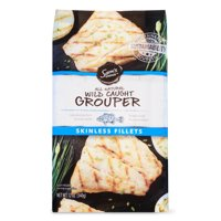Sam's Choice Frozen Grouper Fillets, 12 oz
