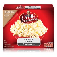 Orville Redenbachers Kettle Corn Microwave Popcorn 3.28 Oz 6 Ct