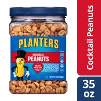 Planters Salted Cocktail Peanuts, 35.0 oz Jar