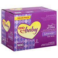H-E-B Baby Lavender Baby Wipes Texas Pack