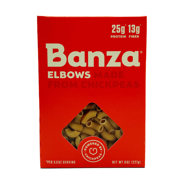 Banza Elbows made from Chickpeas, 8 oz