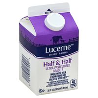 Lucerne Dairy Farms Ultra-pasteurized Half & Half