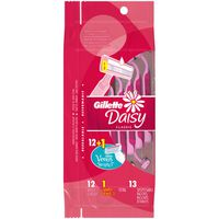 Gillette Simply Venus Women's Disposable Razor (12+1 Bonus)