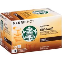 Starbucks Coffee, Ground, Caramel Flavored, K-Cup Pods