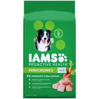 Iams Proactive Health Adult Minichunks Chicken Dry Dog Food (Various Sizes)
