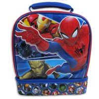 Marvel Avengers Dual Compartment Lunch Bag