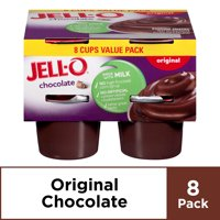 Jell-O Ready to Eat Chocolate Pudding, 8 ct - 31.0 oz Package