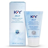K-Y Jelly Personal Water Based Lubricant - 4 oz