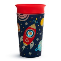 Munchkin Miracle 360 Degree Glow in the Dark Sippy Cup, 9 Ounce, Colors Vary