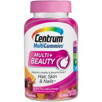 Centrum Multi+ Beauty Gummies - Natural Cherry, Berry & Orange - 90ct