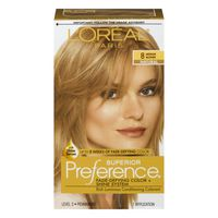 L'Oreal Paris Superior Preference Fade-Defying Color + Shine System 8 Medium Blonde