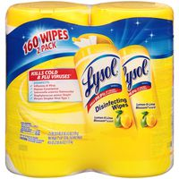 Lysol Lemon & Lime Blossom Scent Value Pack Disinfecting Wipes