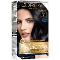L'Oreal Paris Superior Preference Fade-Defying Color + Shine System  1 Ultimate Black
