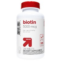 Biotin Dietary Supplement Tablets - 120ct - Up&Up™