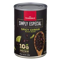 Teasdale Black Beans, Spicy Cuban