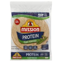MISSION PROTEIN TORTILLA WRAP 6CT