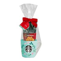 Starbucks Mug with Cocoa and Cookies