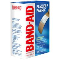 Band Aid Brand Flexible Fabric Adhesive Bandages