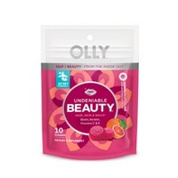 Olly Undeniable Beauty Dietary Supplement Pouch - Grapefruit Glam - 10ct