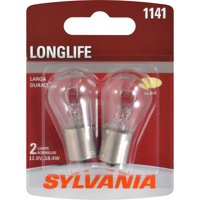 Sylvania 1141 Long Life Halogen Auto Mini Bulbs, Pack of 2.