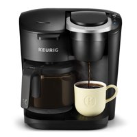 Keurig K-Duo Essentials Coffee Maker, with Single Serve K-Cup Pod and 12 Cup Carafe Brewer, Black