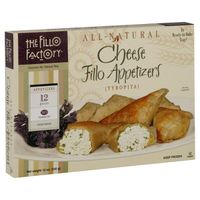 The Fillo Factory Cheese Fillo Appetizers (Tyropita) - 12 CT