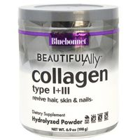 Bluebonnet Collagen, Type I + III, Hydrolyzed Powder