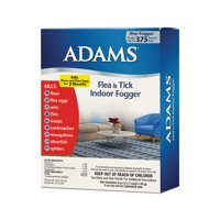 Adams Flea and Tick Indoor Fogger 2 pack 3 ounces